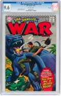 Silver Age (1956-1969):War, Star Spangled War Stories #133 Oakland Pedigree (DC, 1967) CGC NM+ 9.6 Off-white pages....