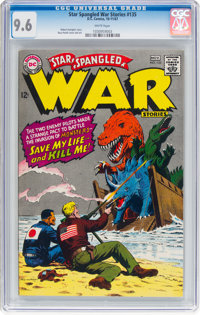 Star Spangled War Stories #135 (DC, 1967) CGC NM+ 9.6 White pages