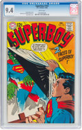 Silver Age (1956-1969):Superhero, Superboy #152 (DC, 1968) CGC NM 9.4 White pages. N...