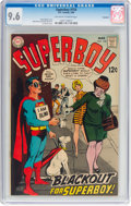 Silver Age (1956-1969):Superhero, Superboy #154 Savannah Pedigree (DC, 1969) CGC NM+ 9.6 Off...