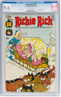 Richie Rich #76 (Harvey, 1968) CGC NM+ 9.6 Off-white to white pages