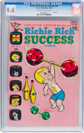 Silver Age (1956-1969):Humor, Richie Rich Success Stories #10 (Harvey, 1966) CGC NM 9.4 Off-white to white pages....
