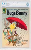 Silver Age (1956-1969):Cartoon Character, Bugs Bunny #79 (Dell, 1961) CBCS NM 9.4 Off-white to white pages....