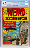 Golden Age (1938-1955):Science Fiction, Weird Science #13 (#2) (EC, 1950) CGC FN 6.0 Off-white to white pages....