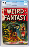Golden Age (1938-1955):Science Fiction, Weird Fantasy #8 (EC, 1951) CGC FN/VF 7.0 Cream to off-white pages....