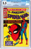 Silver Age (1956-1969):Superhero, The Amazing Spider-Man Annual #2 (Marvel, 1965) CGC FN- 5.5 Whitepages....