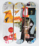 After Robert Rauschenberg Overdrive Triptych (set of three), 2017 Screenprint on skate decks 31 x 8 inches (78.7 x 2...