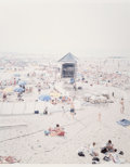 Prints & Multiples, Massimo Vitali (b. 1944). Knokke Beach, polyptych, (three works), 2006. Offset lithographs in colors on smoothe wove pap... (Total: 3 Items)