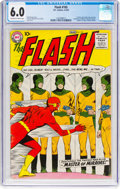 Silver Age (1956-1969):Superhero, The Flash #105 (DC, 1959) CGC FN 6.0 Off-white to white pages....