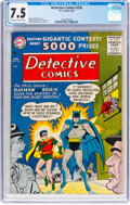 Silver Age (1956-1969):Superhero, Detective Comics #234 (DC, 1956) CGC VF- 7.5 Off-white to ...