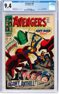 Silver Age (1956-1969):Superhero, The Avengers #46 (Marvel, 1967) CGC NM 9.4 Off-white pages...