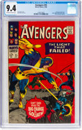Silver Age (1956-1969):Superhero, The Avengers #35 (Marvel, 1966) CGC NM 9.4 Off-white to whitepages....