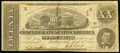 Confederate Notes:1863 Issues, T58 $20 1863 PF-UNL Cr. UNL Very Fine.. ...