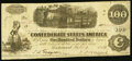 Confederate Notes:1862 Issues, T40 $100 1862 PF-2 Cr. 307 Fine.. ...