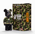 General Americana, BE@RBRICK X BAPE. Shark Hoodie 200%, 2016. Painted metal.5-1/2 x 2-1/2 x 1-1/2 inches (14 x 6.4 x 3.8 cm). Stamped to t...