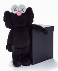 General Americana, KAWS (American, b. 1974). BFF Companion (Black), 2016.Polyester plush toy. 18-1/4 x 11-1/2 x 4-1/2 inches (46.4 x 29.2...