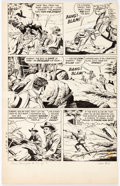 Original Comic Art:Panel Pages, Tom Gill The Lone Ranger #73 Story Page 8 Original Art(Dell, 1954). ...