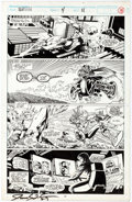 Original Comic Art:Panel Pages, James Fry III and Terry Austin Slapstick #4 Story Page 11Original Art (Marvel, 1993)....