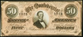 Confederate Notes:1864 Issues, T66 $50 1864 PF-8 Cr. 499 Choice Crisp Uncirculated.. ...