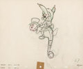 Animation Art:Production Drawing, Pinocchio Jiminy Cricket Animation Drawing Original Art (Walt Disney, 1940)....