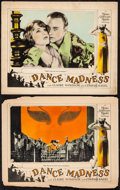"""Movie Posters:Comedy, Dance Madness (MGM, 1926). Lobby Cards (2) (11"""" X 14""""). Comedy. From the Collection of Frank Buxton, of which the sale's p... (Total: 2 Items)"""
