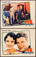 """Movie Posters:Crime, Me, Gangster (William Fox, 1928). Lobby Cards (2) (11"""" X 14""""). Crime. From the Collection of Frank Buxton, of which the sa... (Total: 2 Items)"""