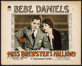 """Movie Posters:Comedy, Miss Brewster's Millions (Paramount, 1926). Lobby Card (11"""" X 14""""). Comedy. From the Collection of Frank Buxton, of which ..."""