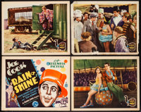 """Rain or Shine (Columbia, 1930). Title Lobby Card & Lobby Cards (3) (11"""" X 14""""). Drama. From the Collection..."""
