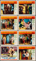 """Movie Posters:Film Noir, Naked Alibi (Universal International, 1954). Title Lobby Card & Lobby Cards (7) (11"""" X 14""""). Film Noir. From the Collectio... (Total: 8 Items)"""