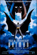 "Movie Posters:Animation, Batman: Mask of the Phantasm (Warner Brothers, 1993). One Sheet(27"" X 40"") DS. Animation.. ..."