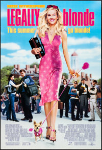 """Legally Blonde & Others Lot (MGM, 2001). One Sheets (3) (27"""" X 40"""" & 27"""" X 41"""") DS..."""