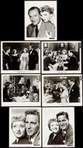 "Movie Posters:Academy Award Winners, All About Eve (20th Century Fox, 1950). Photos (13) (Approx. 8"" X 10"", 8"" X 9.5"", 7.25"" X 10""). Academy Award Winners.. ... (Total: 13 Items)"