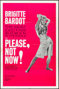 "Movie Posters:Foreign, Please, Not Now! (International Classics, 1963). One Sheet (27"" X 41""). Foreign.. ..."