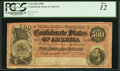 Confederate Notes:1864 Issues, T64 $500 1864 PF-3 Cr. 489B PCGS Fine 12.. ...