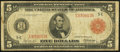 Fr. 836b $5 1914 Red Seal Federal Reserve Note Very Good