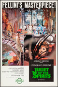 "Movie Posters:Foreign, Juliet of the Spirits (Rizzoli, 1965). One Sheet (27"" X 41""). Foreign.. ..."