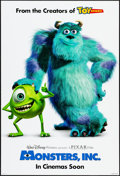 "Movie Posters:Animation, Monsters, Inc. & Other Lot (Buena Vista, 2001). One Sheets & International One Sheet (27"" X 40"") DS Advance. Animation.. ... (Total: 2 Items)"