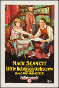 "Movie Posters:Comedy, Little Robinson Corkscrew (Pathe Exchange, 1924). One Sheet (27"" X41""). Comedy. From the Collection of Frank Buxton, of w..."