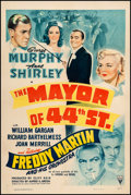 """Movie Posters:Musical, The Mayor of 44th Street (RKO, 1942). One Sheet (27"""" X 41""""). Musical. From the Collection of Frank Buxton, of which the sa..."""