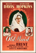 """Movie Posters:Drama, The Old Maid (Warner Brothers, 1939). One Sheet (27"""" X 41""""). Drama.From the Collection of Frank Buxton, of which the sale..."""