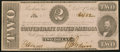 Confederate Notes:1862 Issues, T54 $2 1862 PF-11 Cr. 392 About Uncirculated.. ...