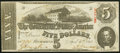 Confederate Notes:1863 Issues, T60 $5 1863 PF-21 Cr. 459 Extremely Fine.. ...