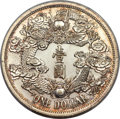 China, China: Hsüan-t'ung silver Specimen Pattern Dollar Year 3 (1911) SP62+ PCGS,...