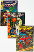Silver Age (1956-1969):Superhero, The Amazing Spider-Man Group of 11 (Marvel, 1967-73) Condition:Average FN/VF.... (Total: 11 Comic Books)