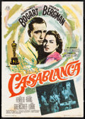 "Movie Posters:Academy Award Winners, Casablanca (CB Films, R-1967). Very Fine-. Spanish Herald (4"" X 5.5"") DS. Mac Artwork. Academy Award Winners.. ..."