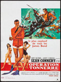 "Movie Posters:James Bond, Thunderball (United Artists, R-1980s). French Petite (15.75"" X 21.25""). Frank McCarthy with Robert McGinnis Artwork. James B..."