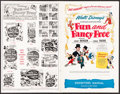 """Movie Posters:Animation, Fun and Fancy Free (RKO, 1947). Uncut Pressbook (20 Pages, 11"""" X17""""). Animation.. ..."""