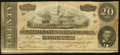 Confederate Notes:1864 Issues, T67 $20 1864 PF-14 Cr. 514 Very Good-Fine.. ...