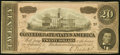 Confederate Notes:1864 Issues, T67 $20 1864 PF-3 Cr. 505 About Uncirculated.. ...