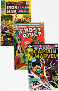 Silver Age (1956-1969):Superhero, Marvel Silver-Modern Age Comics Group of 6 (Marvel, 1960s-80s)Condition: Average FN.... (Total: 6 Comic Books)